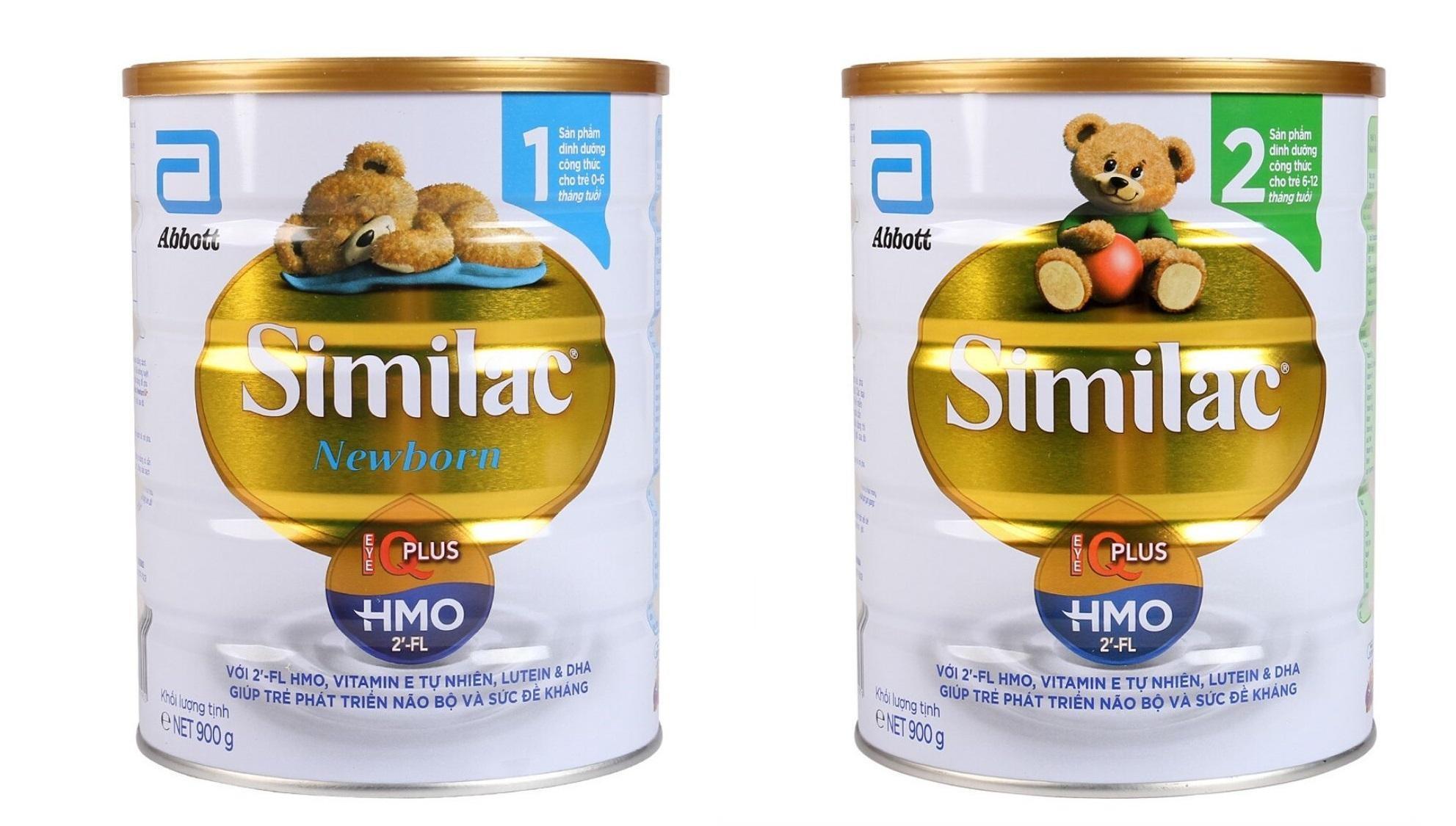 trẻ sơ sinh bị táo bón nên uống sữa gì