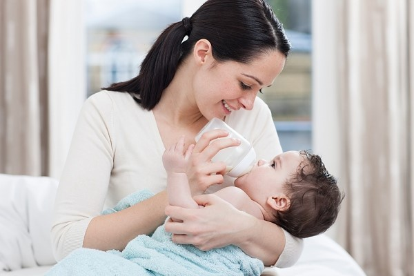 sữa mát cho trẻ
