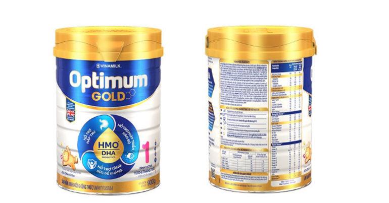 sữa vinamilk optimum gold 1 có tốt không