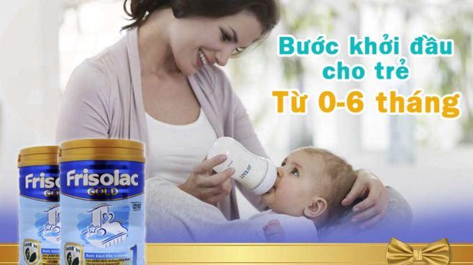 trẻ sơ sinh nên uống sữa gì