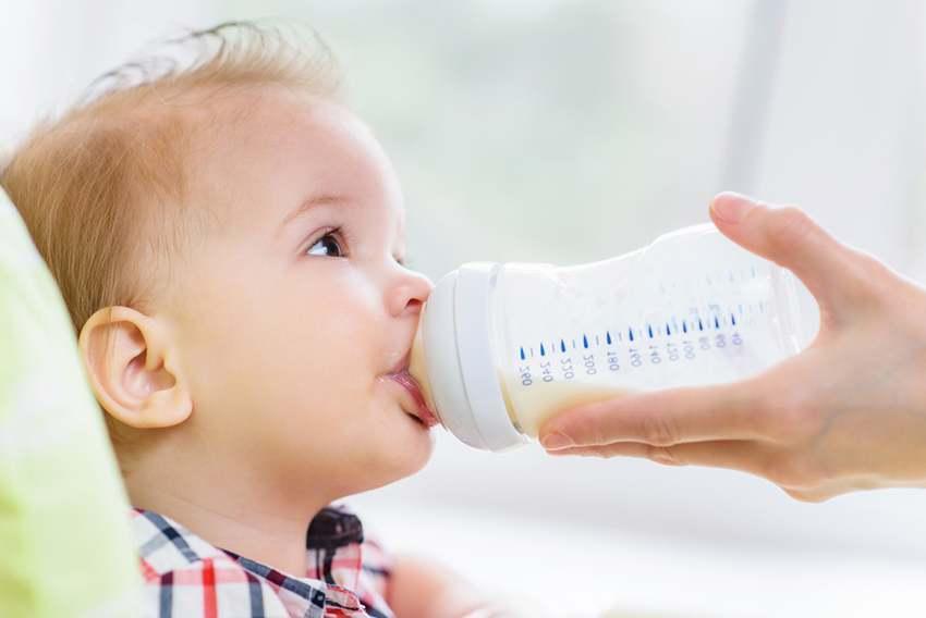 sữa tốt cho hệ tiêu hoá trẻ sơ sinh