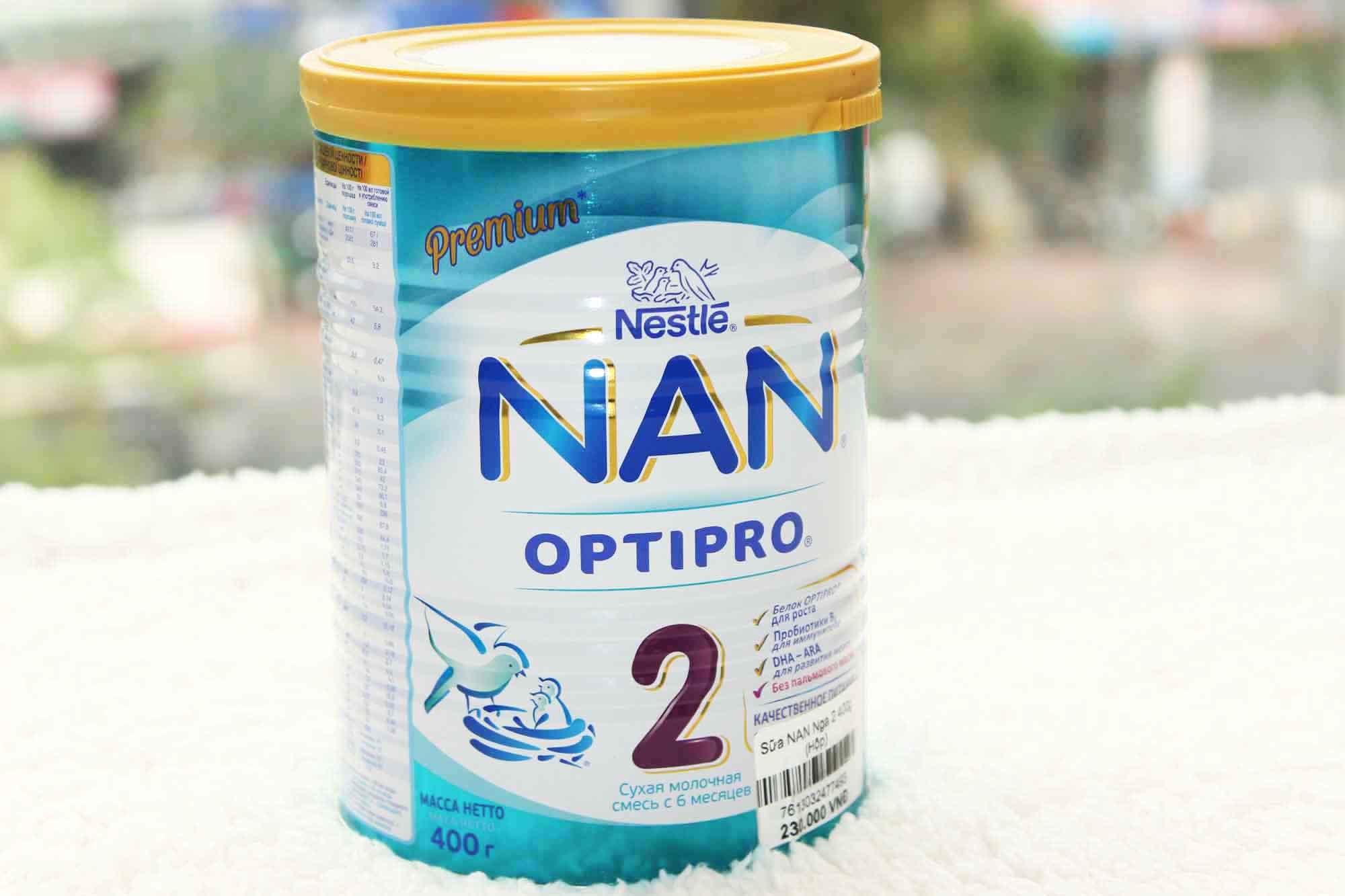 Nên dùng sữa Nan hay sữa Frisolac cho các bé