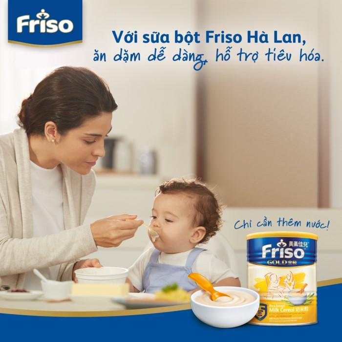 Bột ăn dặm Friso có tốt không