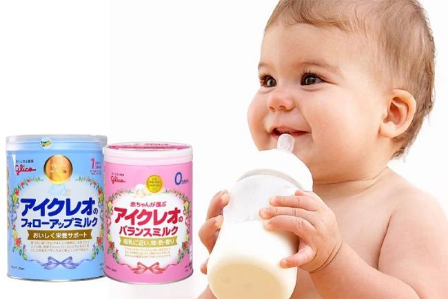 sữa tốt nhất cho bé