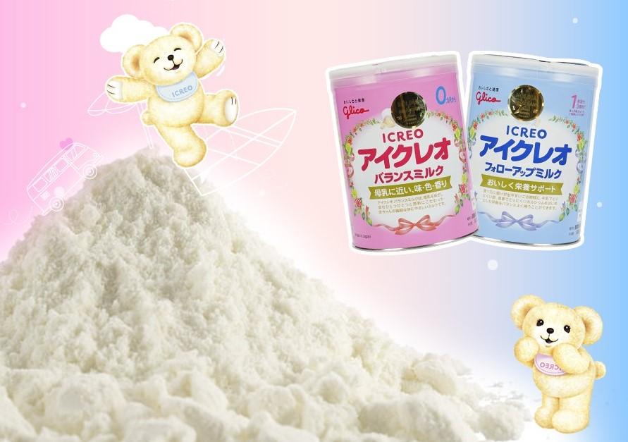 những loại sữa giúp bé tăng cân