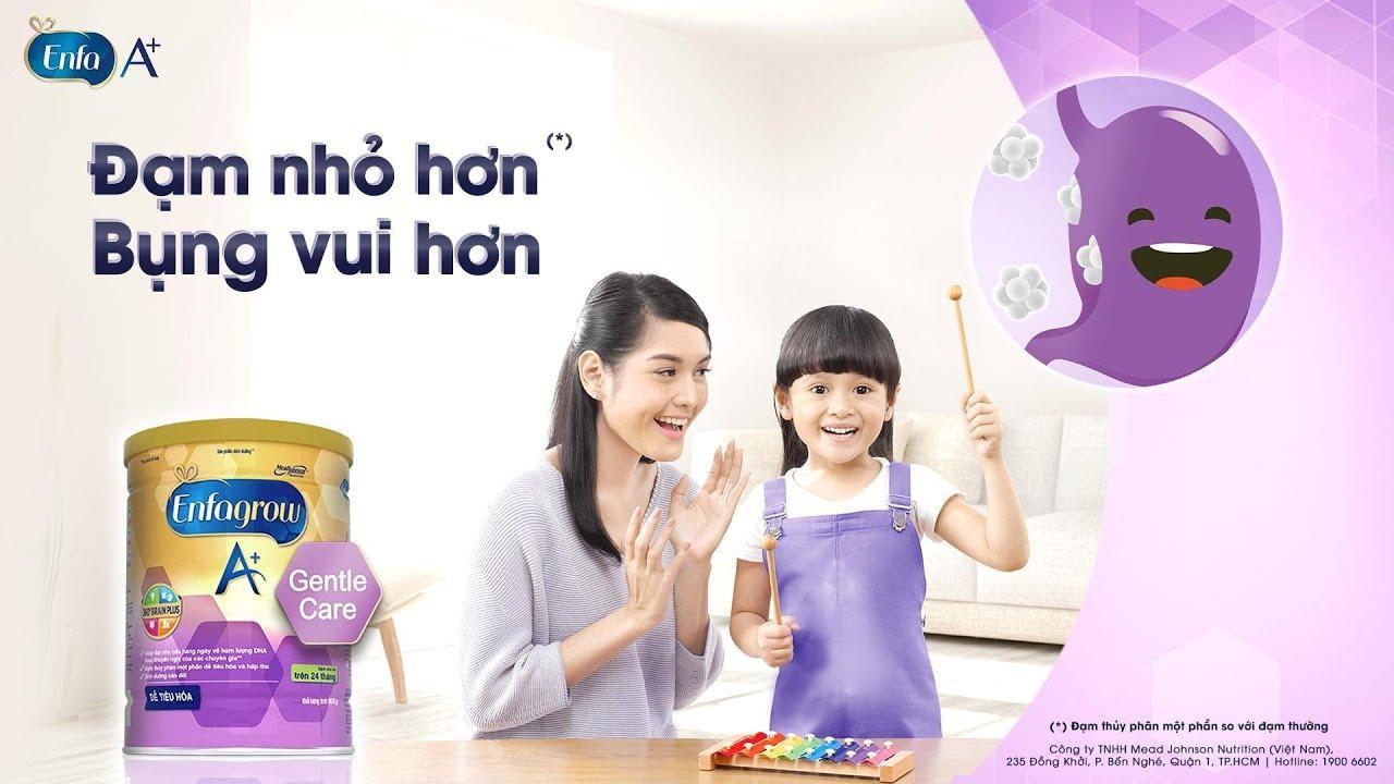 sữa dành cho trẻ tiêu hóa kém