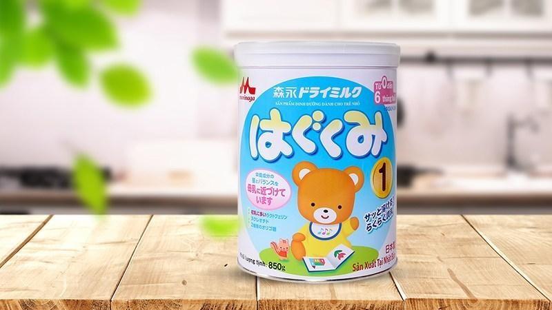 sữa mát giúp bé tăng cân