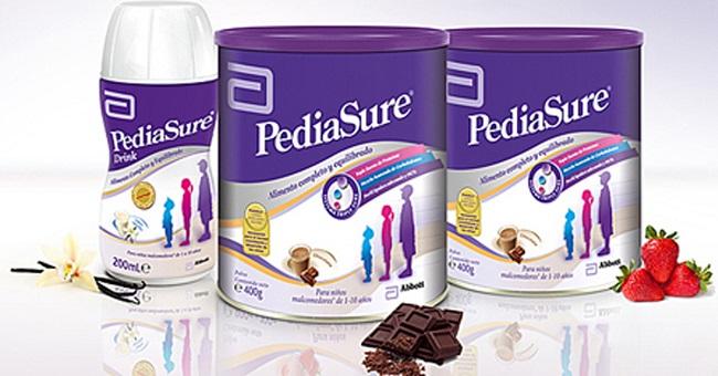 sữa pediasure cho bé tăng cân