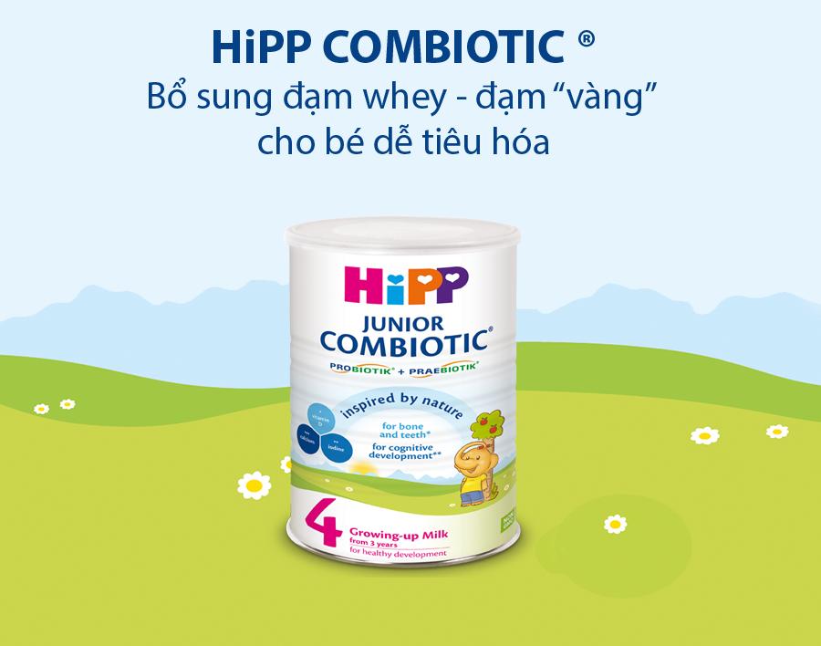 Sữa Hipp cho bé nhẹ cân