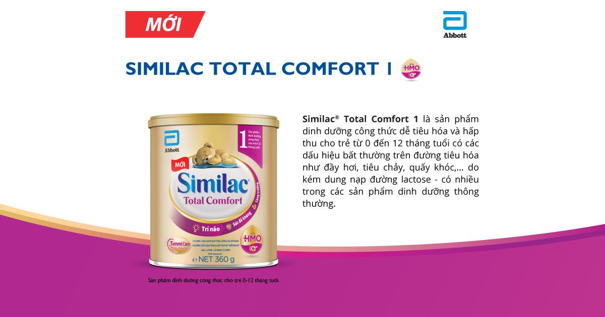 sữa Similac Total Comfort có tốt không