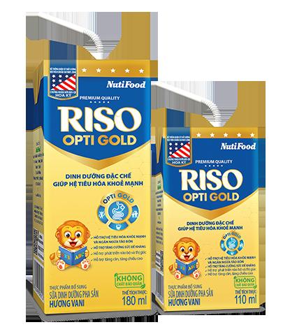 sữa Riso Opti Gold có tốt không