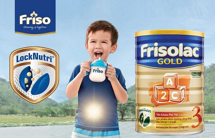 sữa frisolac gold 3 có tốt không