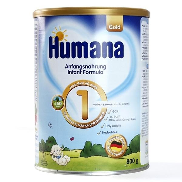 sữa humana gold 1 của Đức