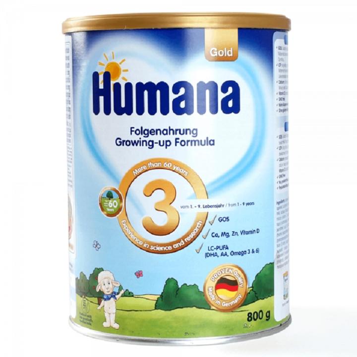 sữa humana số 3 có tốt không