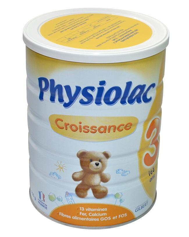 giá sữa physiolac số 3