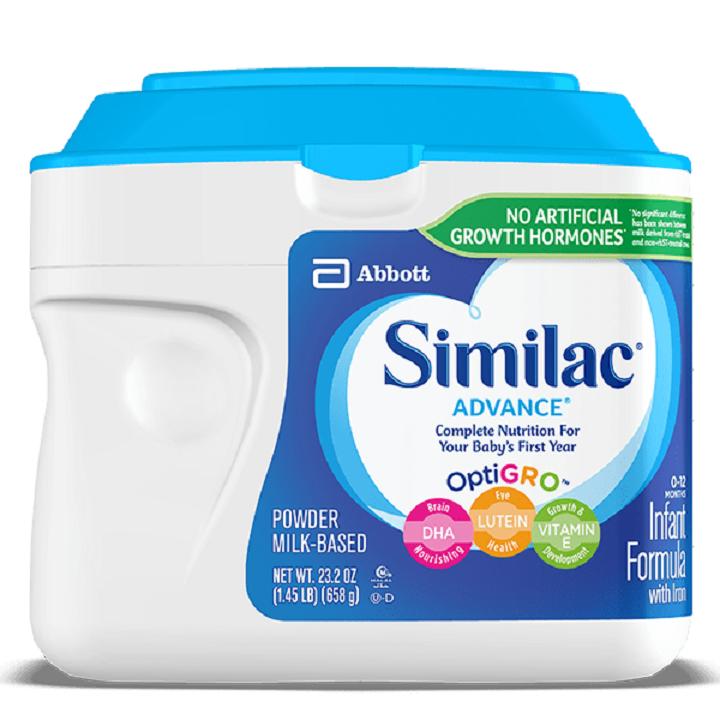 sữa similac advance giá bao nhiêu