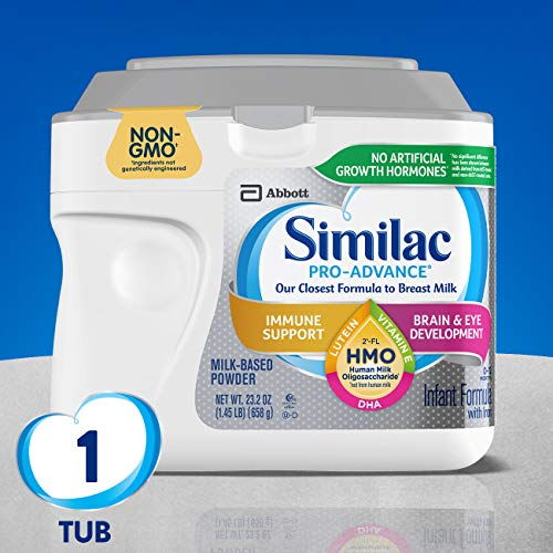 review sữa similac pro advance hmo