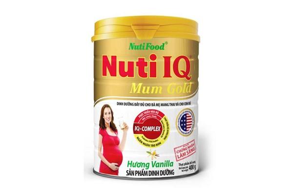Sữa Nuti IQ Mum Gold