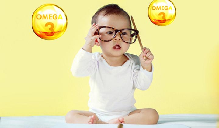 Omega 3 cho bé