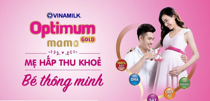 sữa bầu Optimum